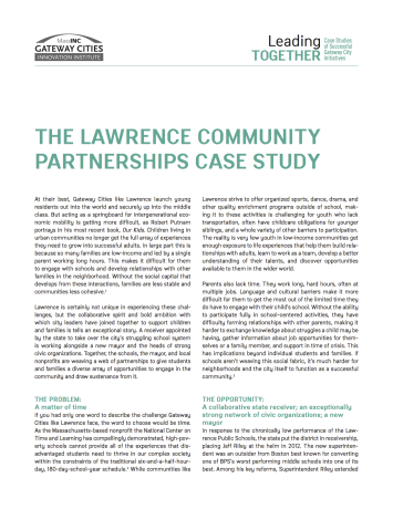 lawrence case study cover